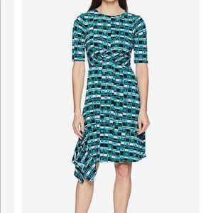 Donna Morgan asymmetric dress 4